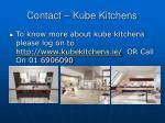 contact kube kitchens