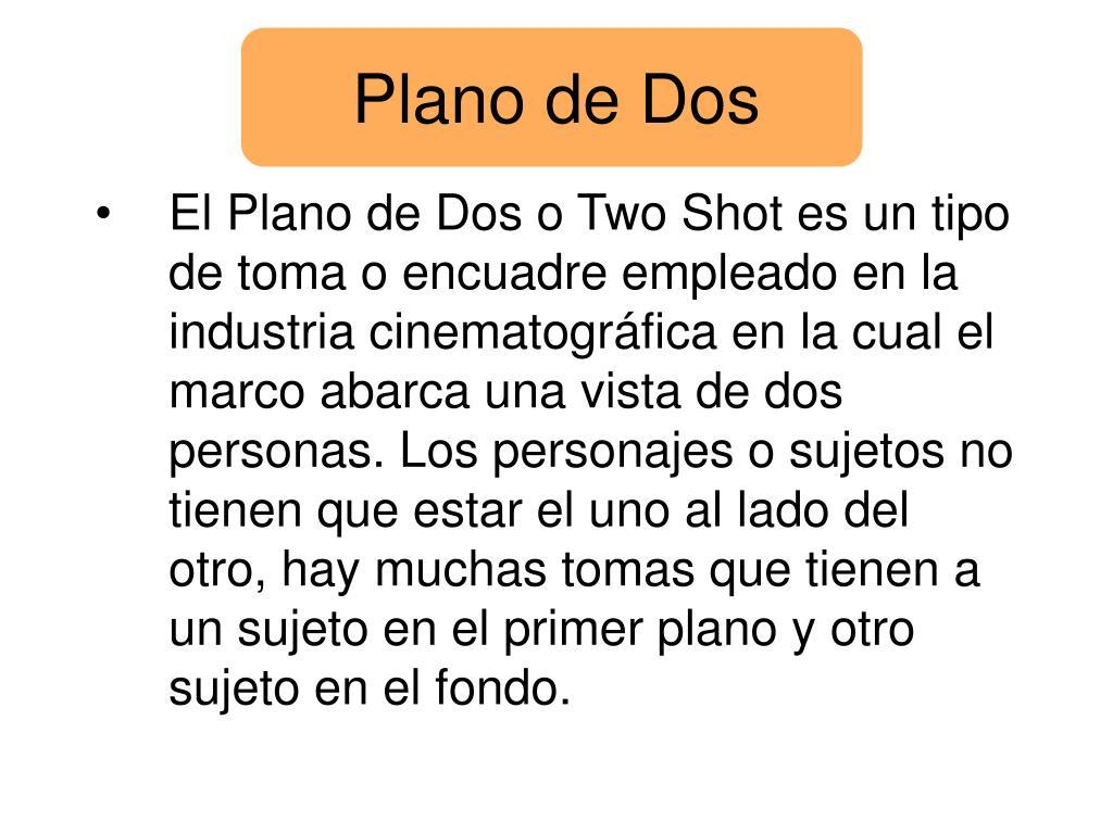 Plano de Dos