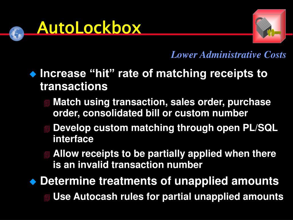 AutoLockbox