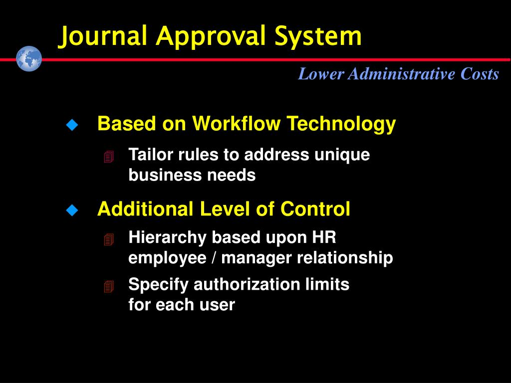 Journal Approval System