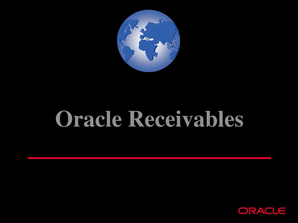 Oracle Receivables