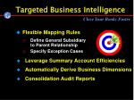 targeted business intelligence
