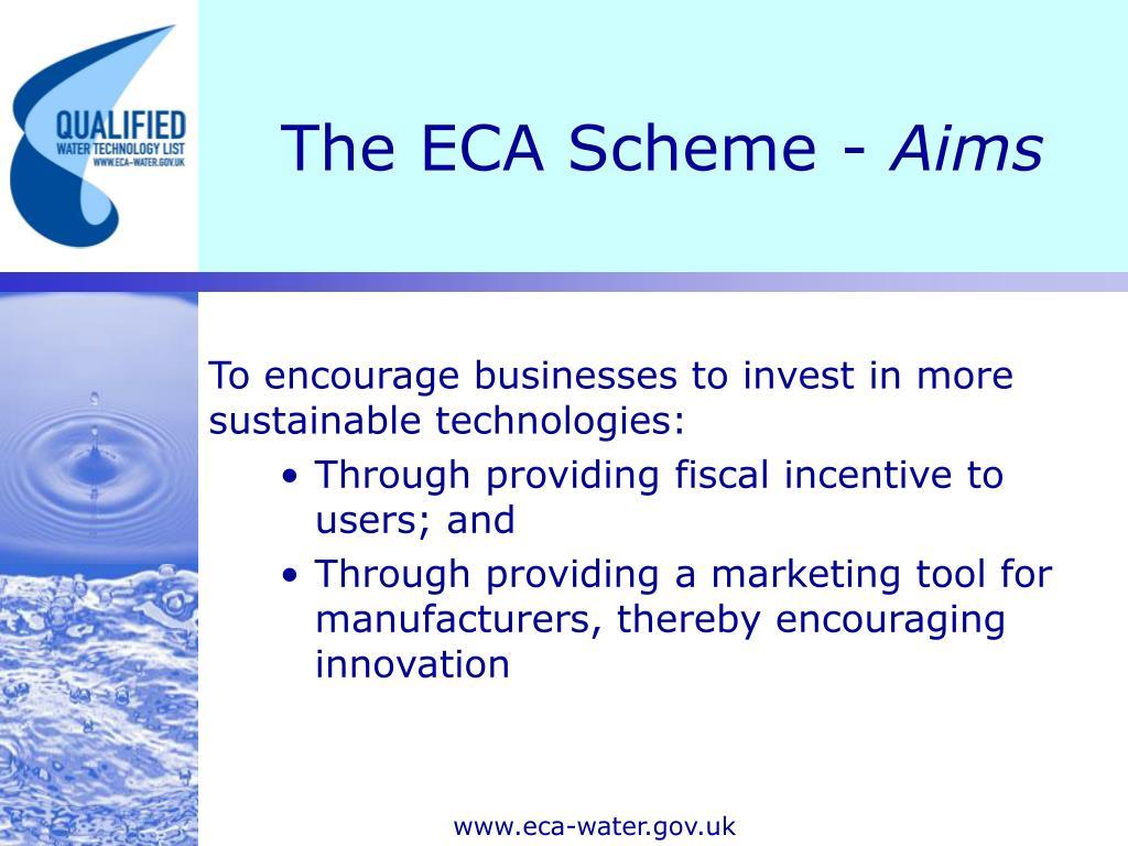 The ECA Scheme -