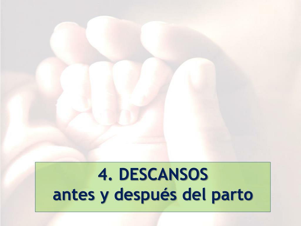 4. DESCANSOS