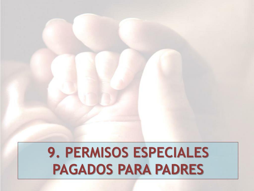 9. PERMISOS ESPECIALES