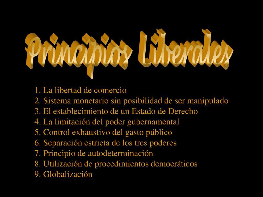 Principios  Liberales