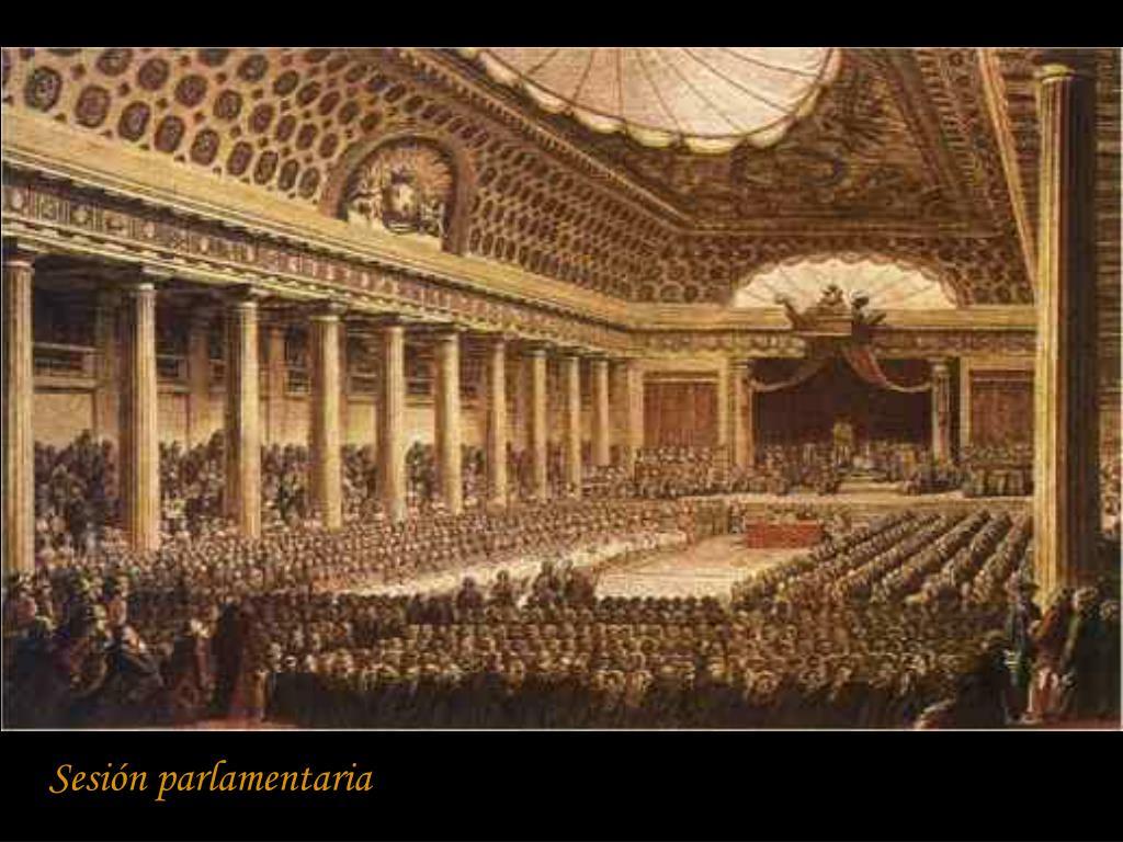 Sesión parlamentaria