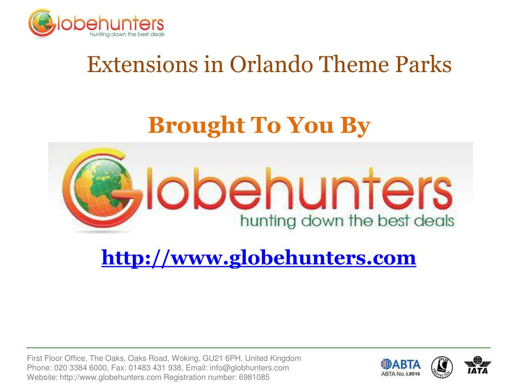 Extensions in Orlando Theme Parks