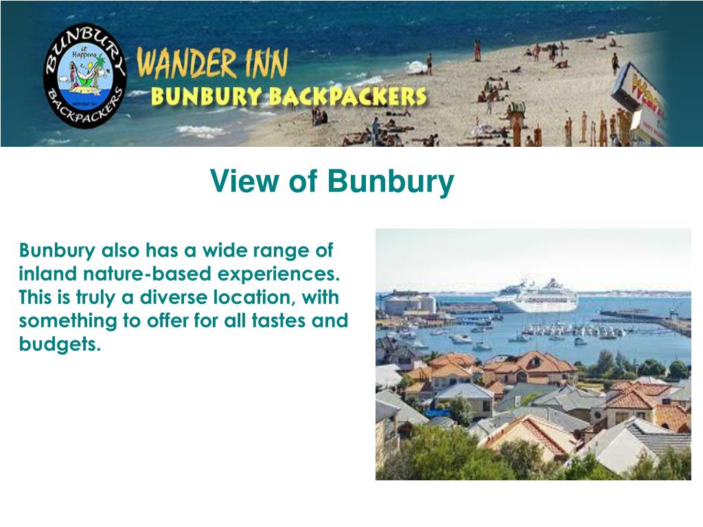 View of Bunbury
