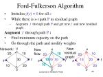 ford fulkerson algorithm22