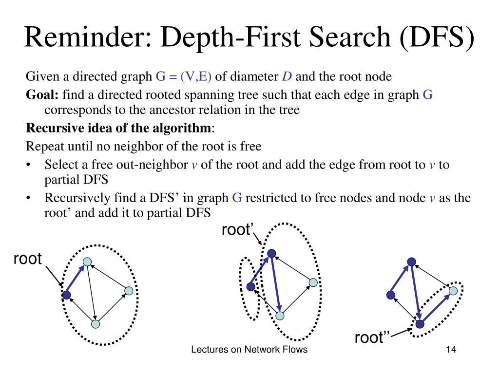 Reminder: Depth-First Search (DFS)