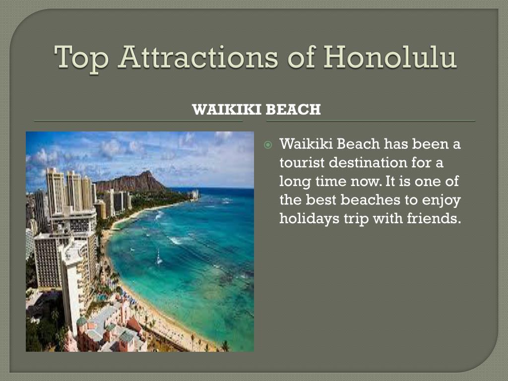 Top Attractions of Honolulu