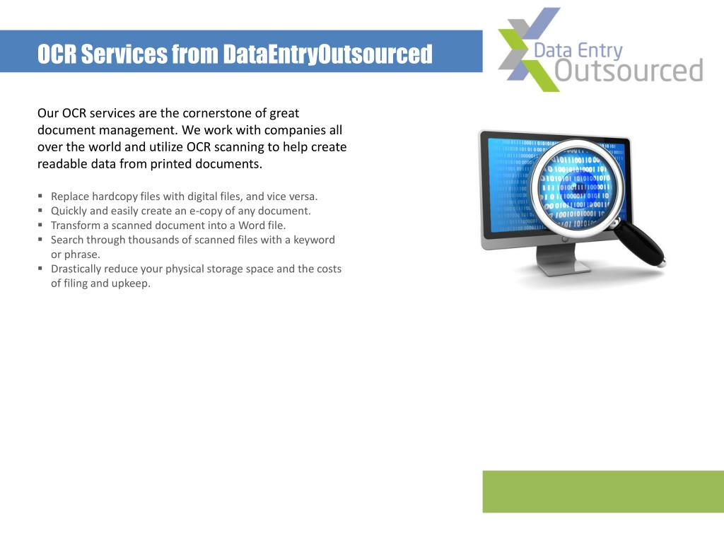 OCR Services from