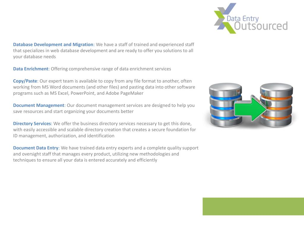 Database Development and Migration
