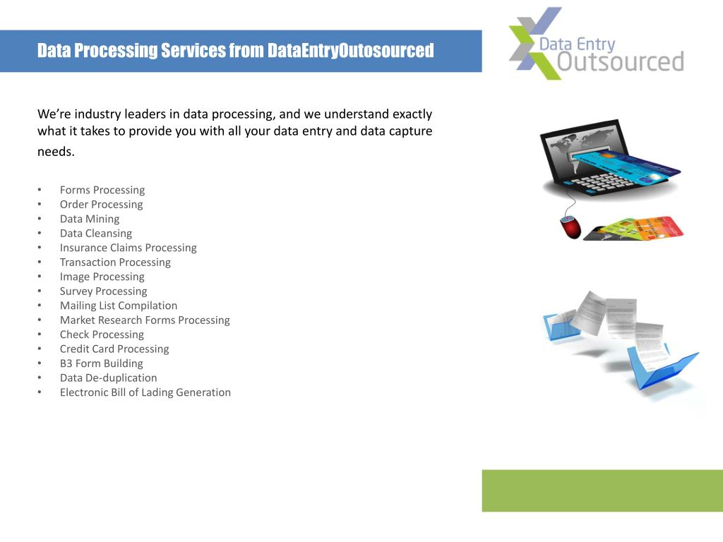 Data Processing Services from