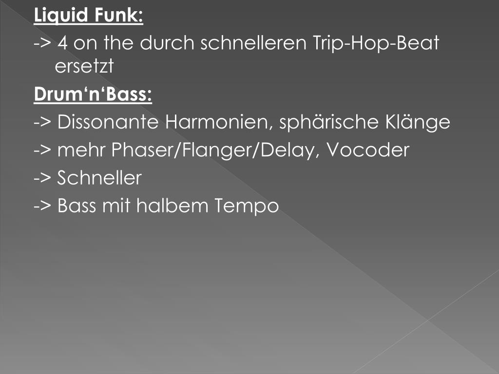 Liquid Funk: