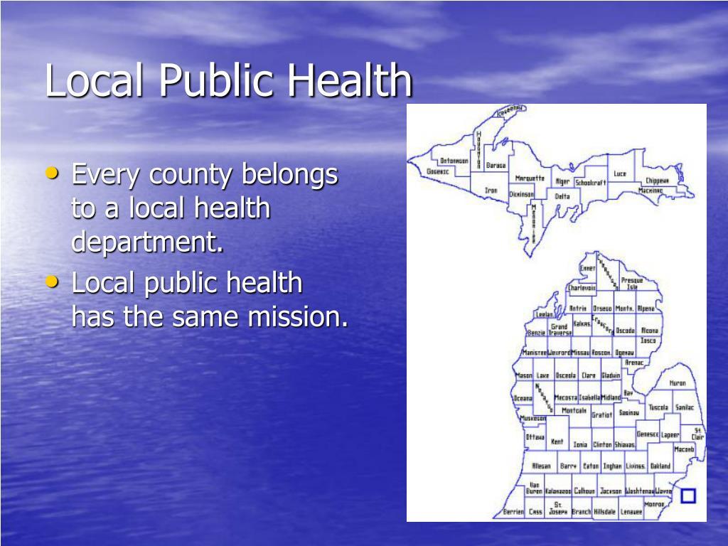 Local Public Health