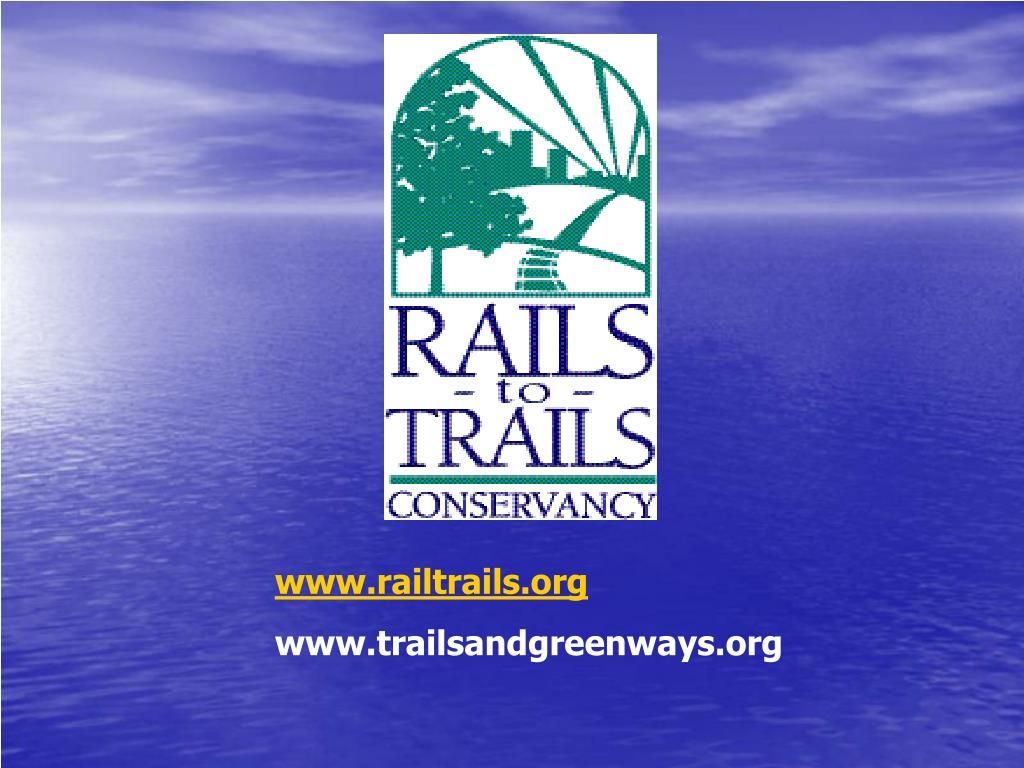 www.railtrails.org