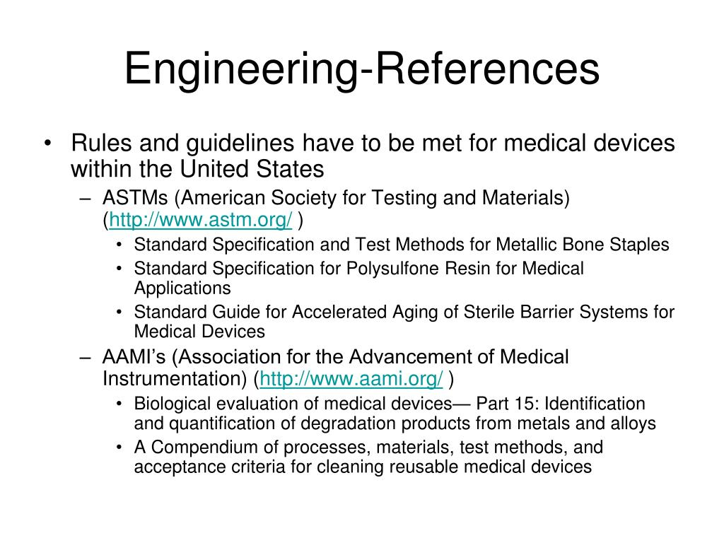 Engineering-References