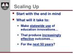 scaling up11