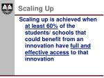 scaling up5