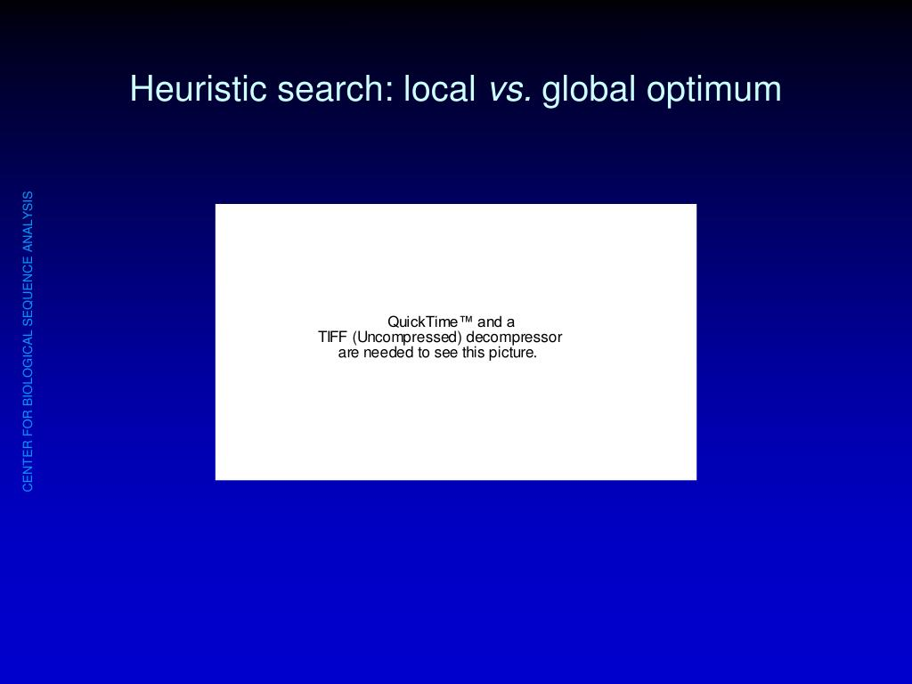 Heuristic search: local