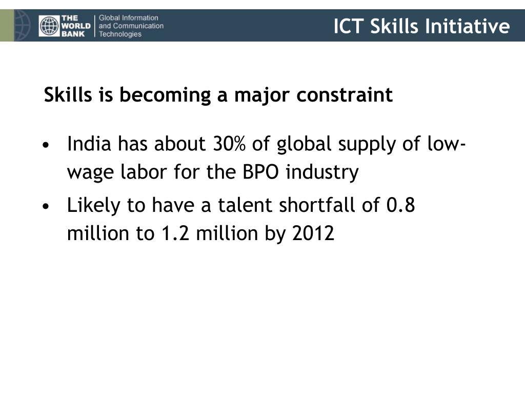 ICT Skills Initiative