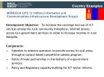 mongolia us 12 million information and communications infrastructure development project