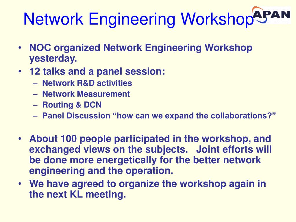 Network Engineering Workshop