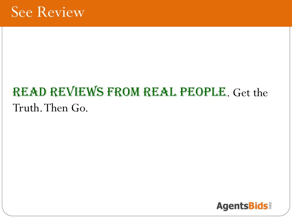 See Review