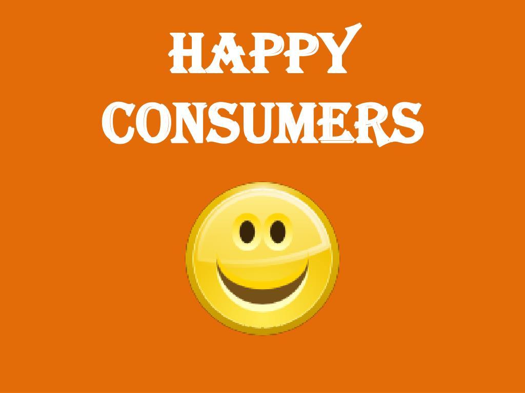 Happy Consumers