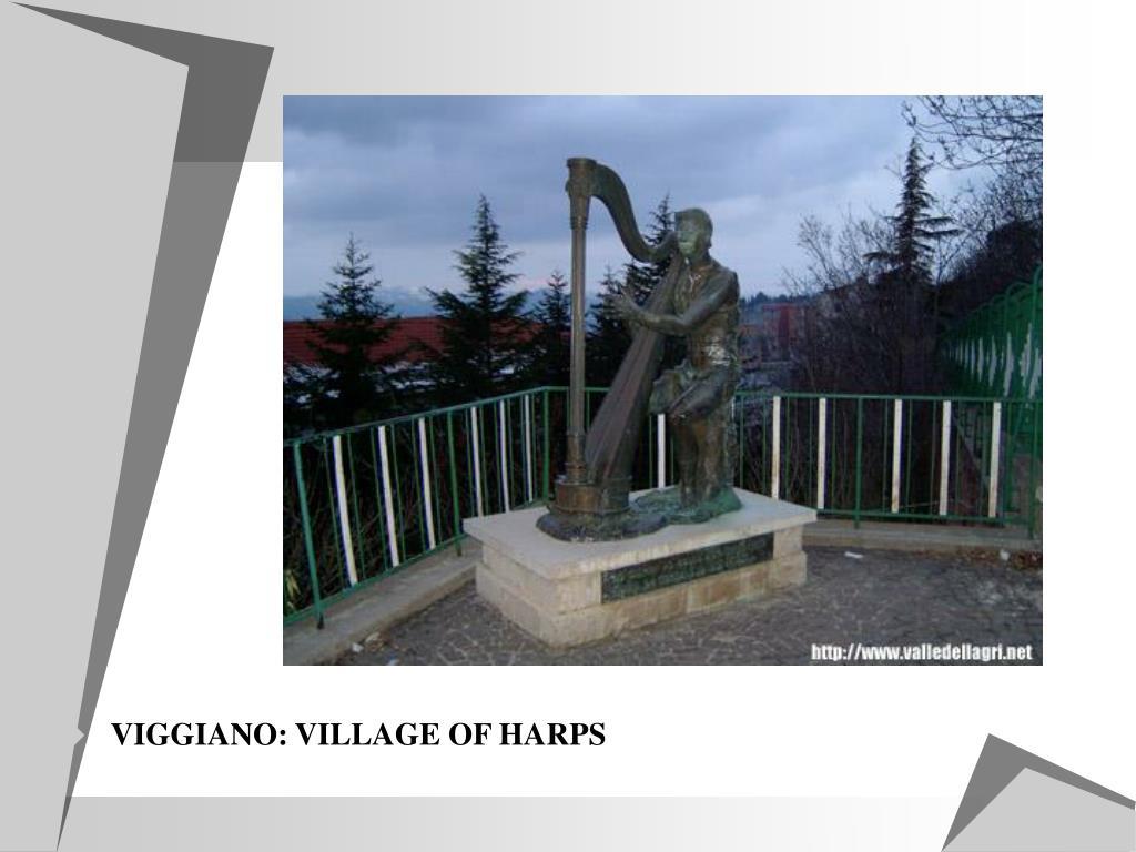 VIGGIANO: VILLAGE OF HARPS