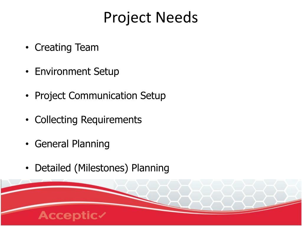Creating Team