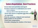 salary negotiation best practices