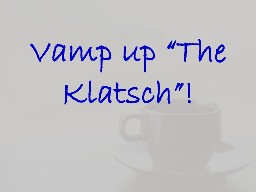 """Vamp up """"The"""