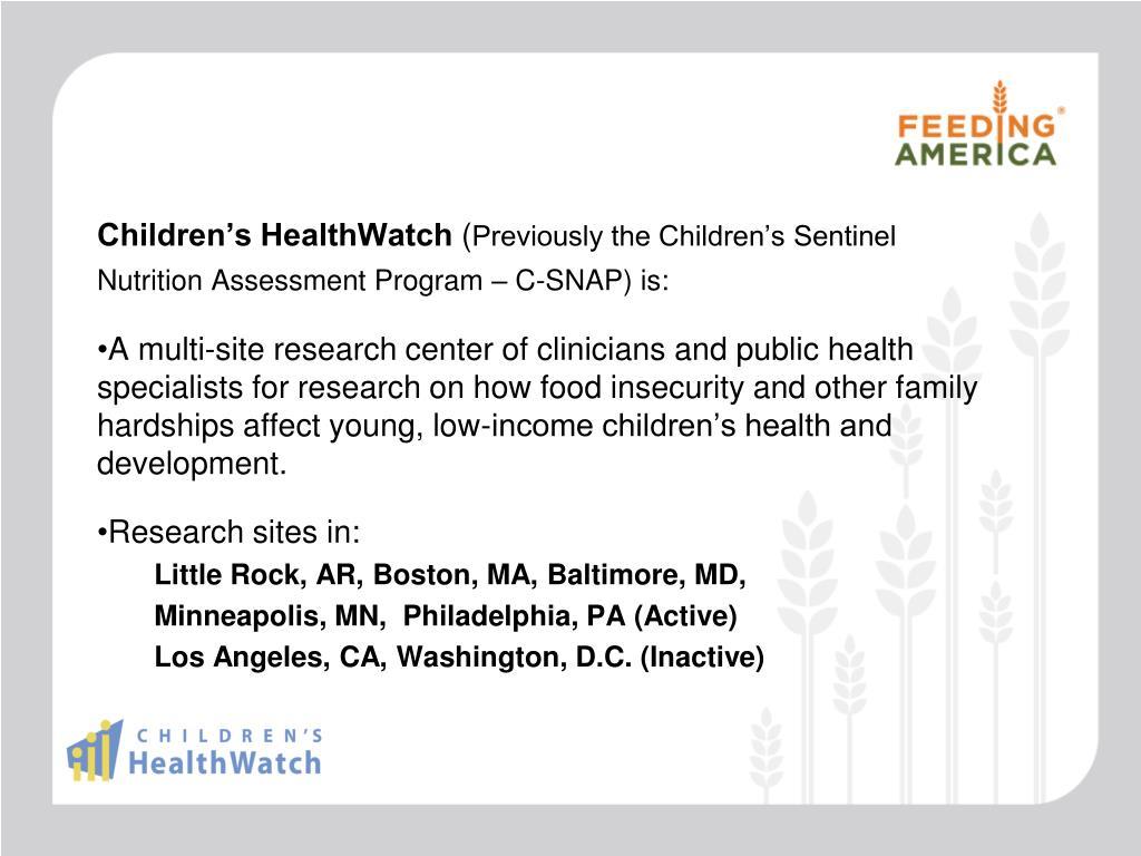 Children's HealthWatch