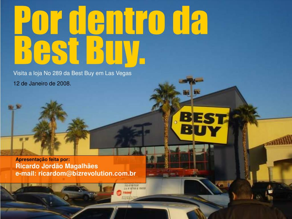 Por dentro da Best Buy.