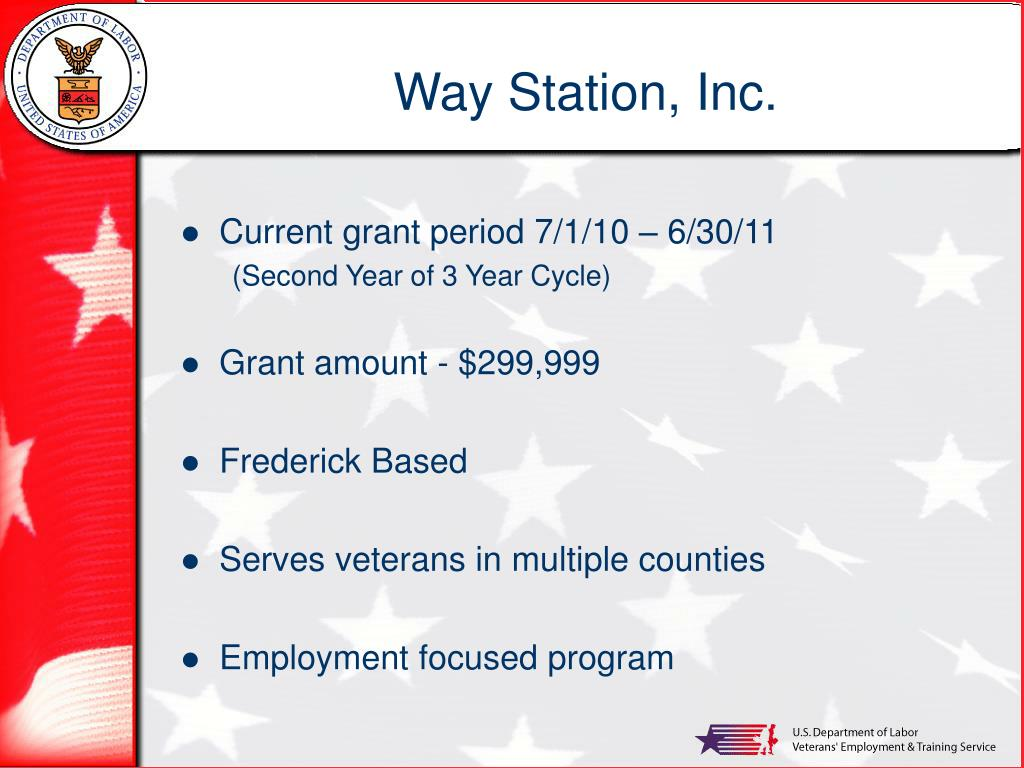 Way Station, Inc.