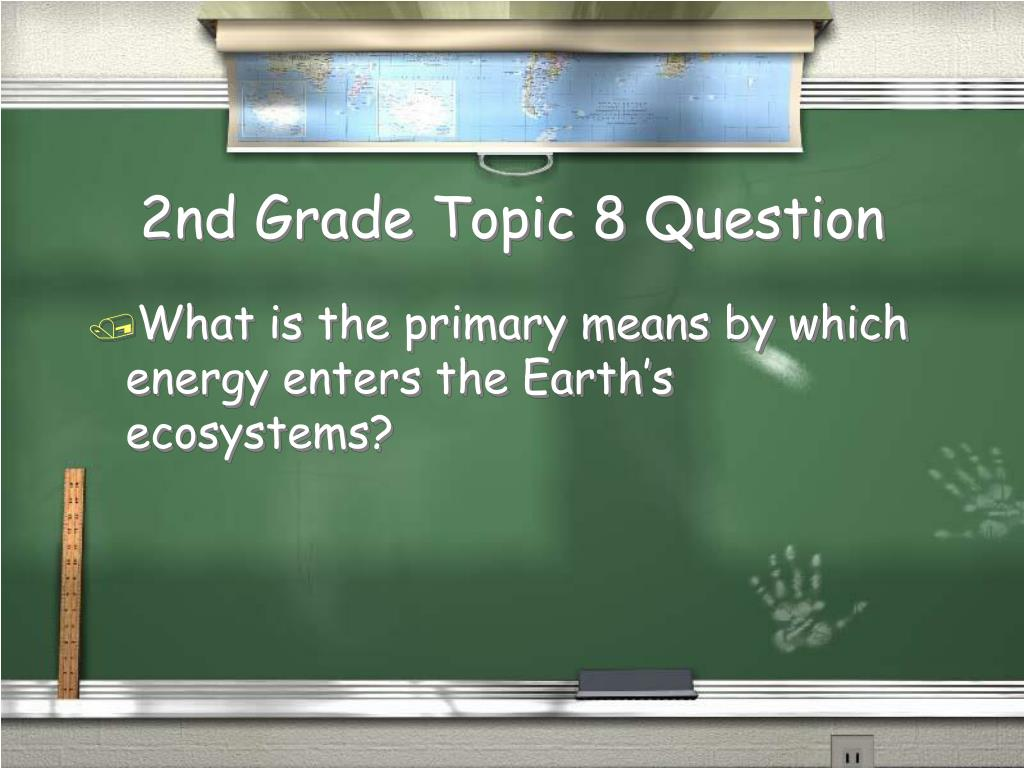 2nd Grade Topic 8 Question