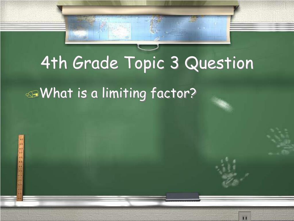 4th Grade Topic 3 Question