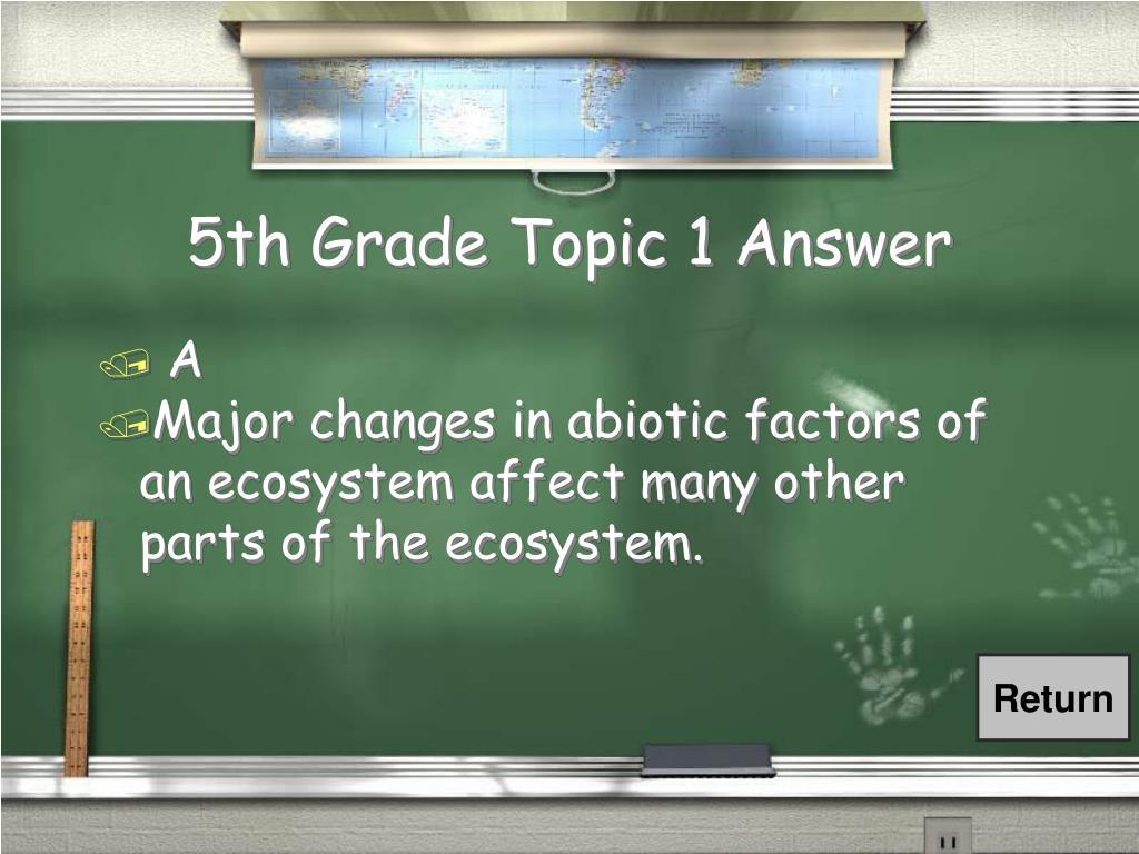 5th Grade Topic 1 Answer