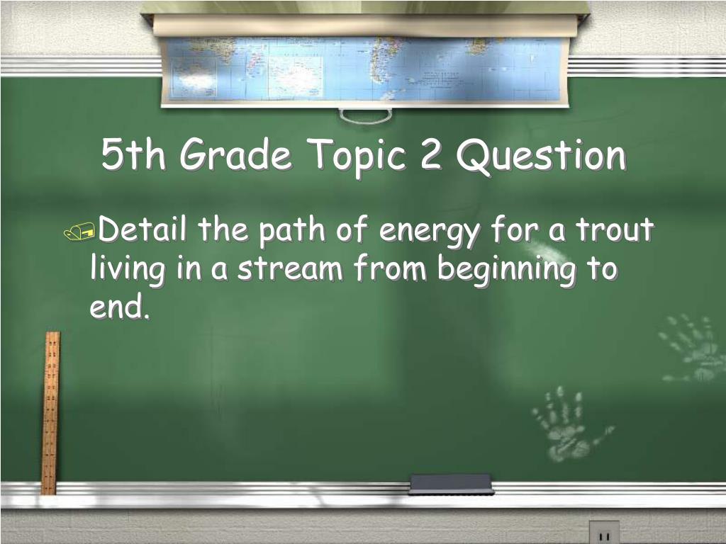 5th Grade Topic 2 Question