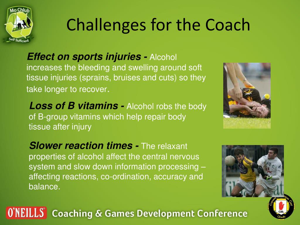 Challenges for the Coach
