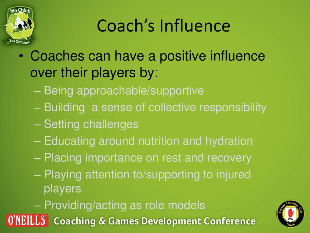 Coach's Influence