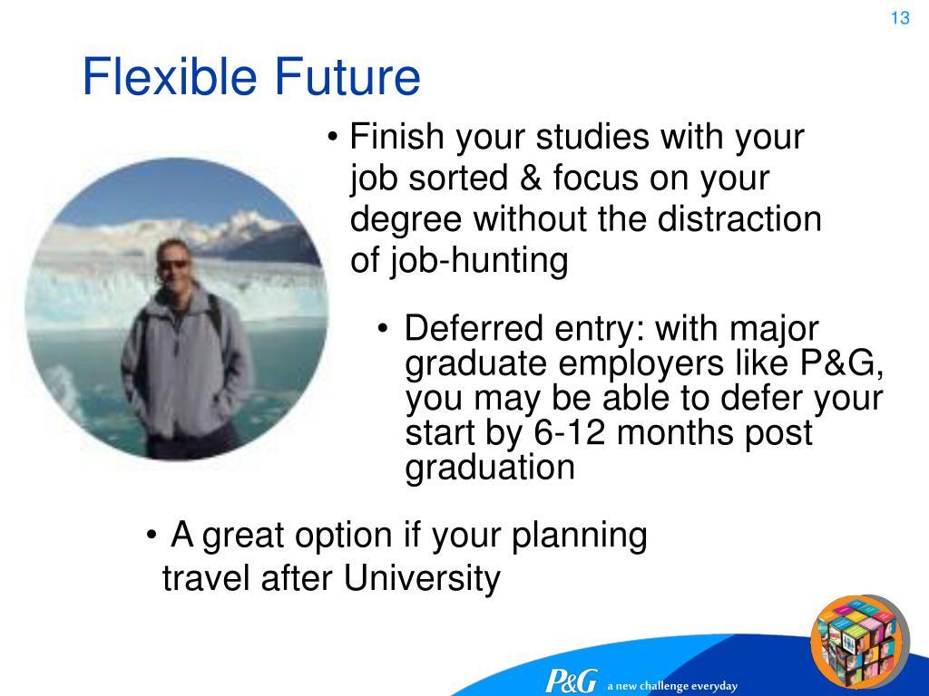 Flexible Future