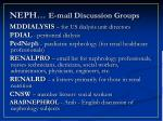 neph e mail discussion groups11