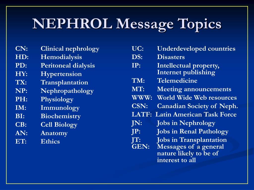 CN:Clinical nephrology