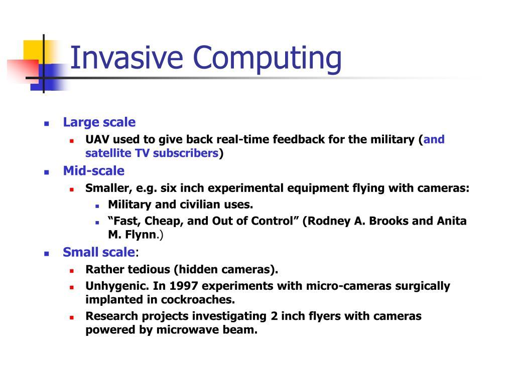 Invasive Computing