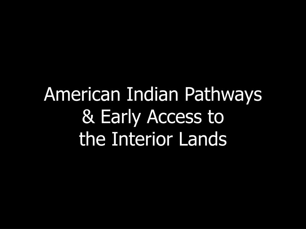 American Indian Pathways