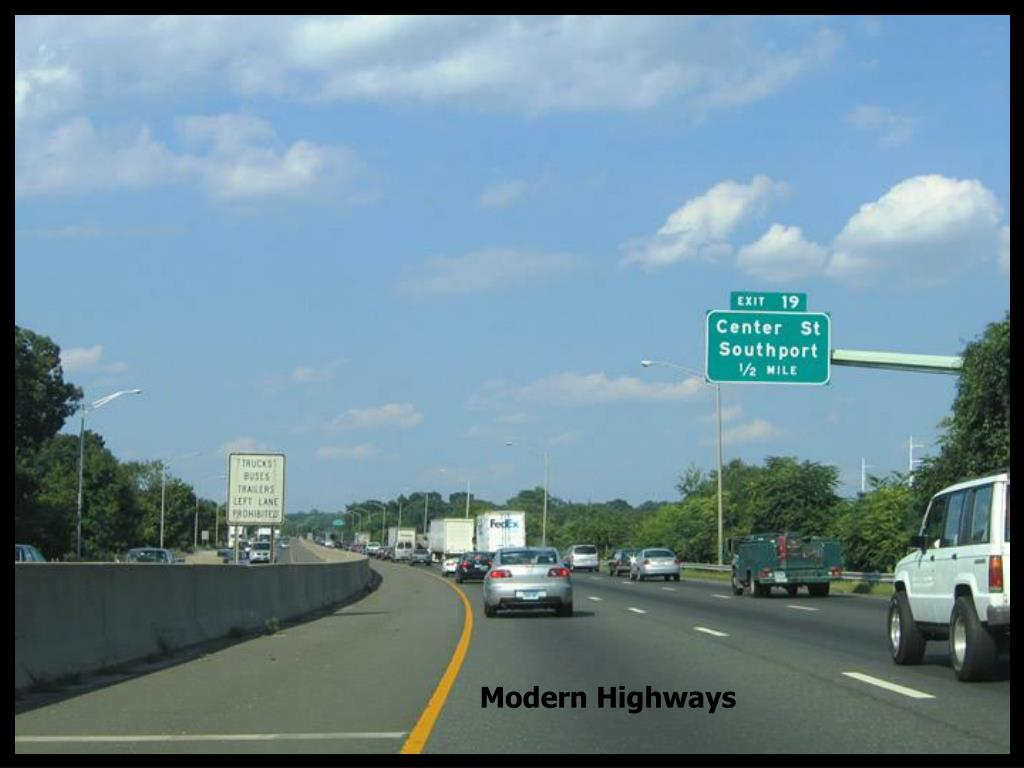 Modern Highways
